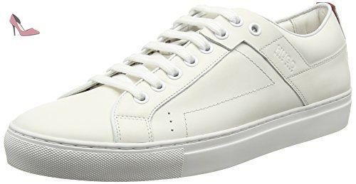 Hugo Mariel 10201909 01, Sneakers Basses Femme, Blanc (White), 39 EU