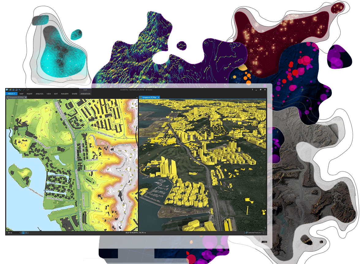 ArcGIS Pro | Professional 2D & 3D GIS Mapping Software | Projects to