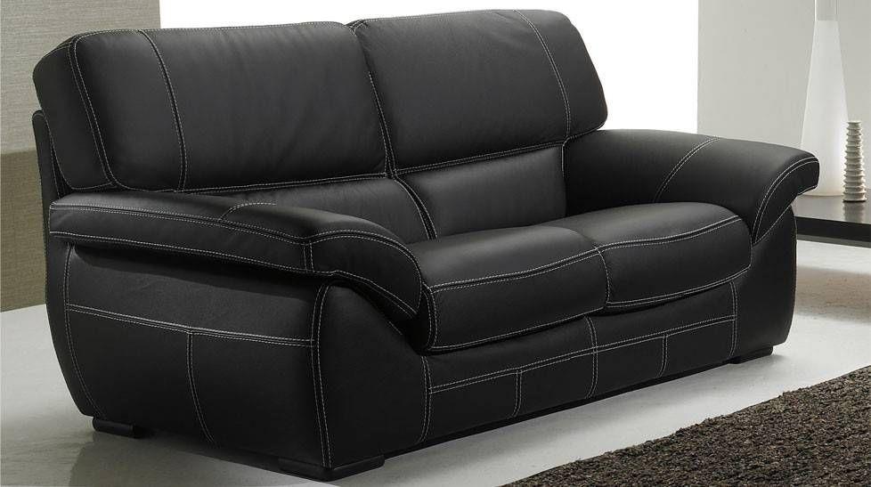 Ensemble Canape 3 2 1 Pas Cher Salon Cuir 5 Places Noir Pas Cher Canape 3 2 In 2020 Home Decor Home Recliner Chair