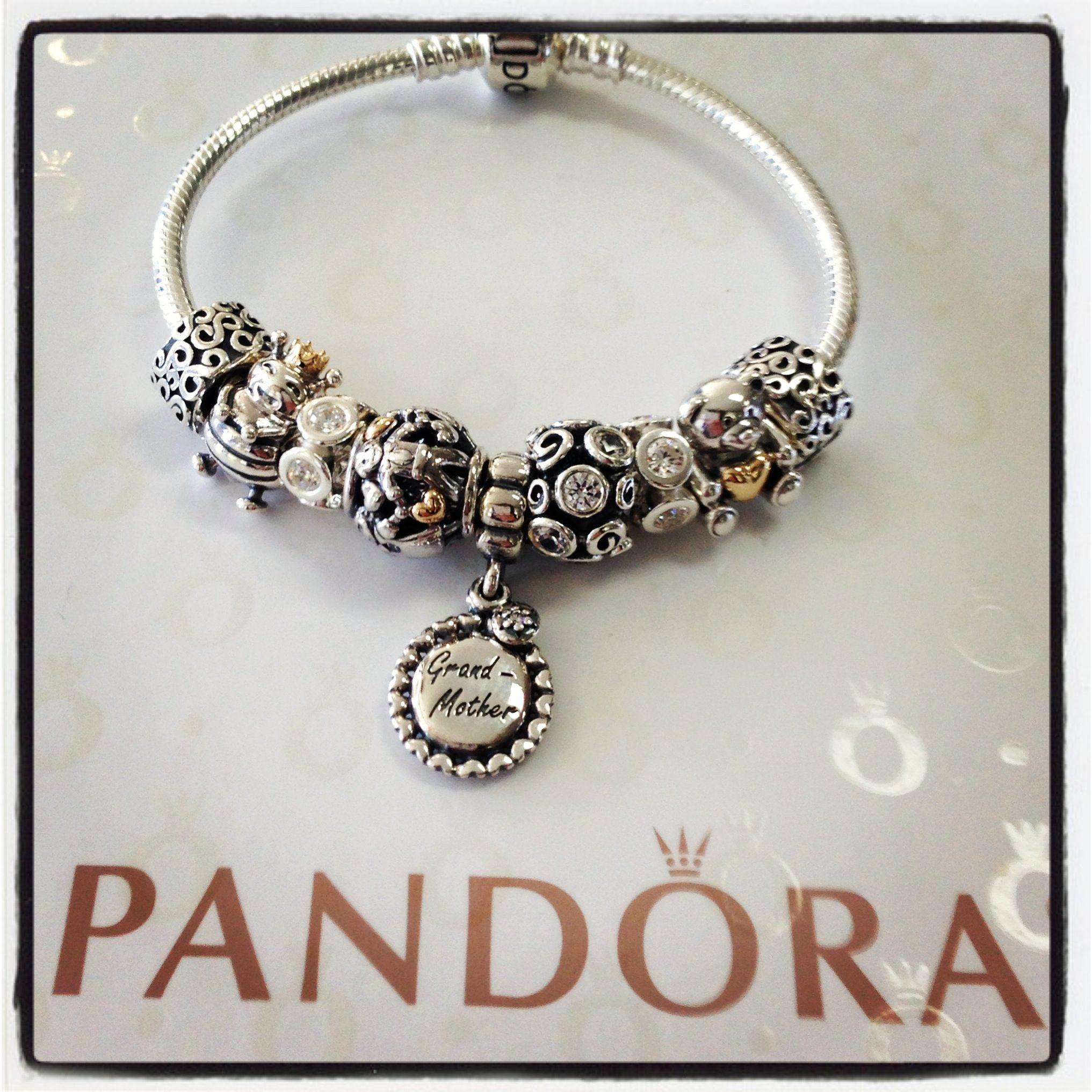 Ultimate Pandora grandmother bracelet Pandora