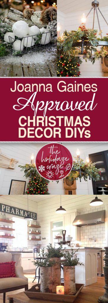 Joanna Gaines Approved Christmas Decor DIYs Christmas Decor Crafts