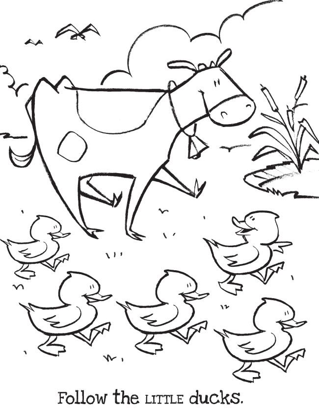 The Big & Little Farm Coloring Book: featuring Romy the Cow COLORING ...