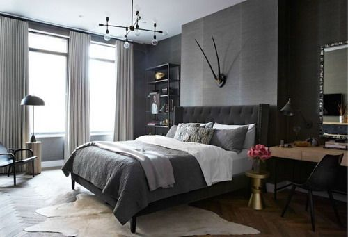 The Best Tips To Use Dark Interior Wall Colors Bedroom Design