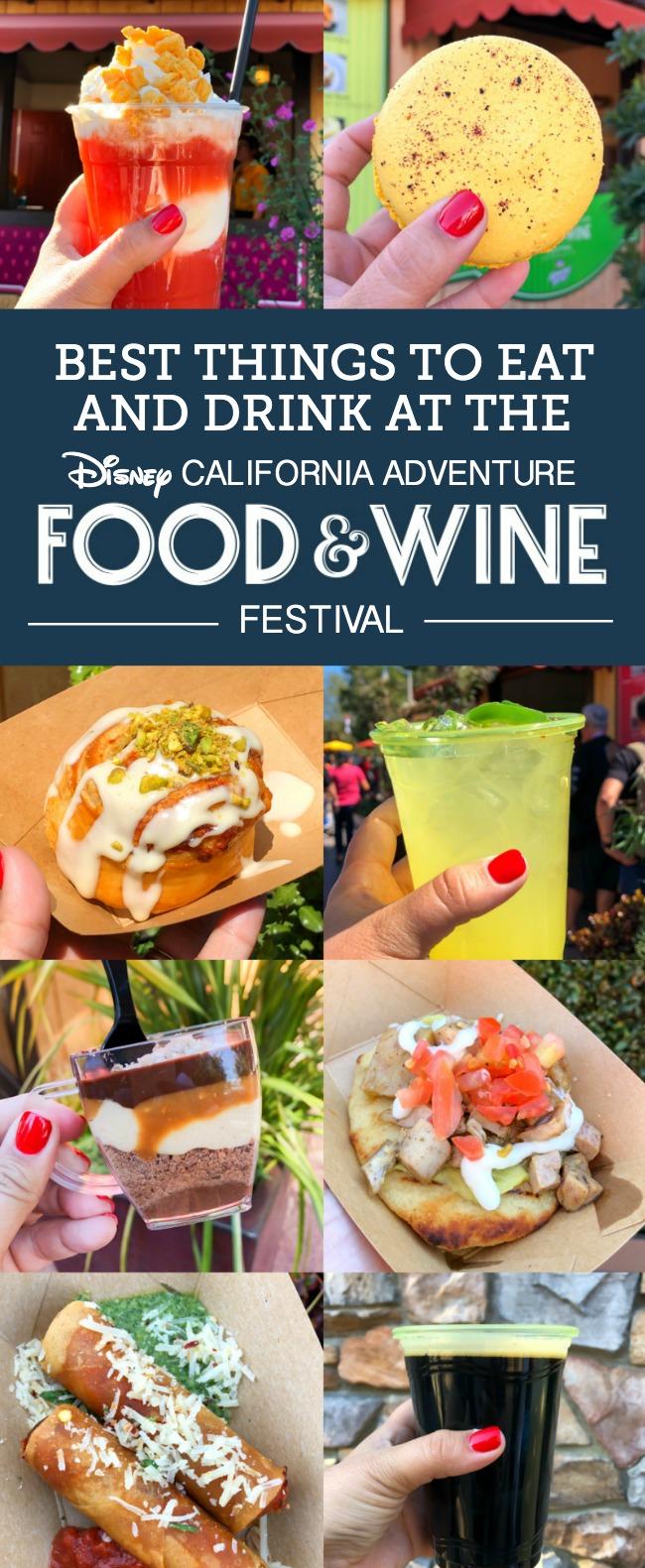 Disney California Adventure Food and Wine Festival in 2020