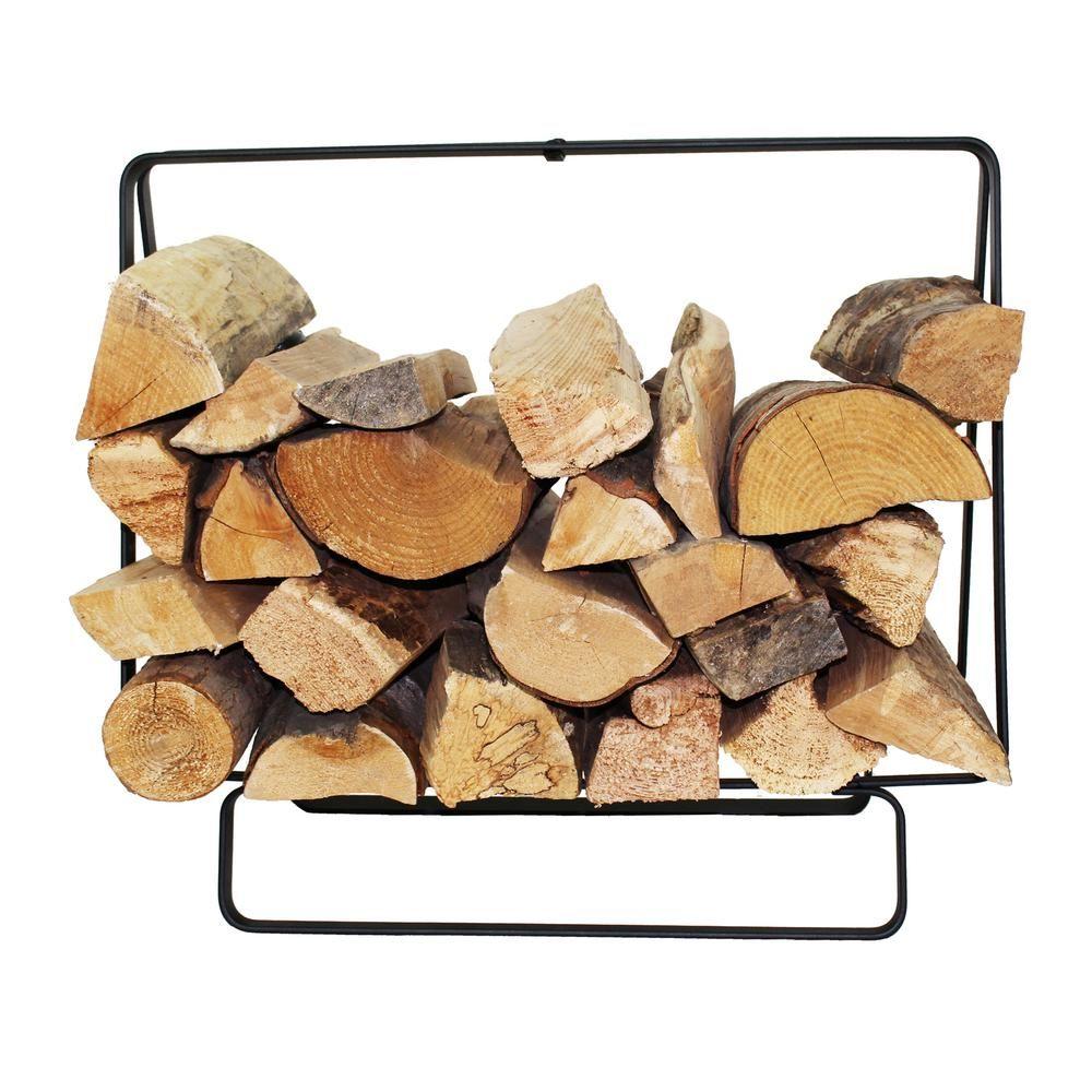 Enclume Handcrafted Indoor Outdoor Small Rectangular Firewood Rack