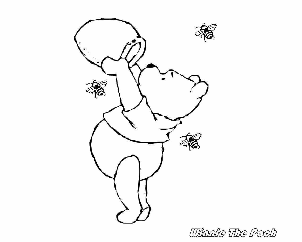 winnie the pooh coloring pages, winnie the pooh and friends coloring ...
