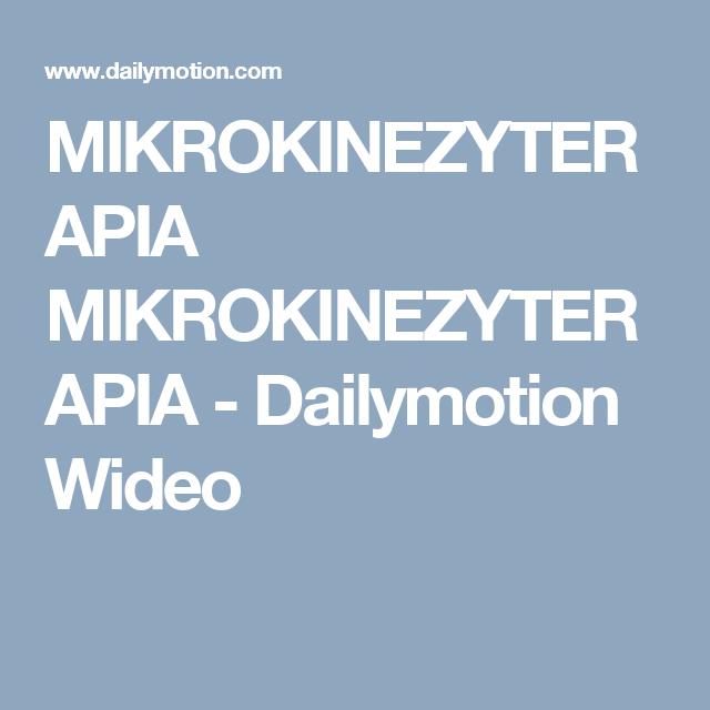 Mikrokinezyterapia Mikrokinezyterapia Dailymotion Wideo
