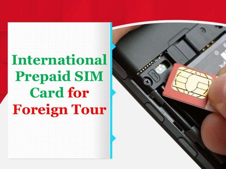 Usa Pay As You Go Simcard Is Providing An International Prepaid