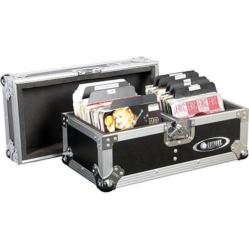 Odyssey Innovative Designs Fz45120 Flight Zone Ata Case Vinyl Record Case Record Case Vinyl Records