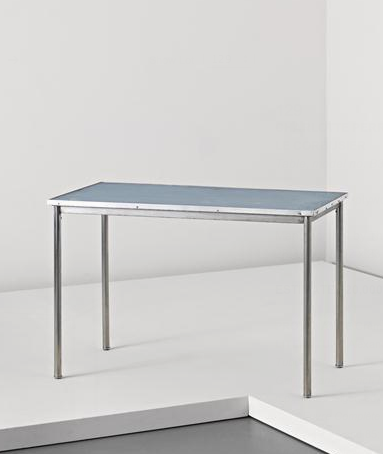 Table, model no.B307, Manufactured by Thonet Frères, France. Designed by Charlotte Perriand, Pierre Jeanneret and Le Corbusier, c.1935