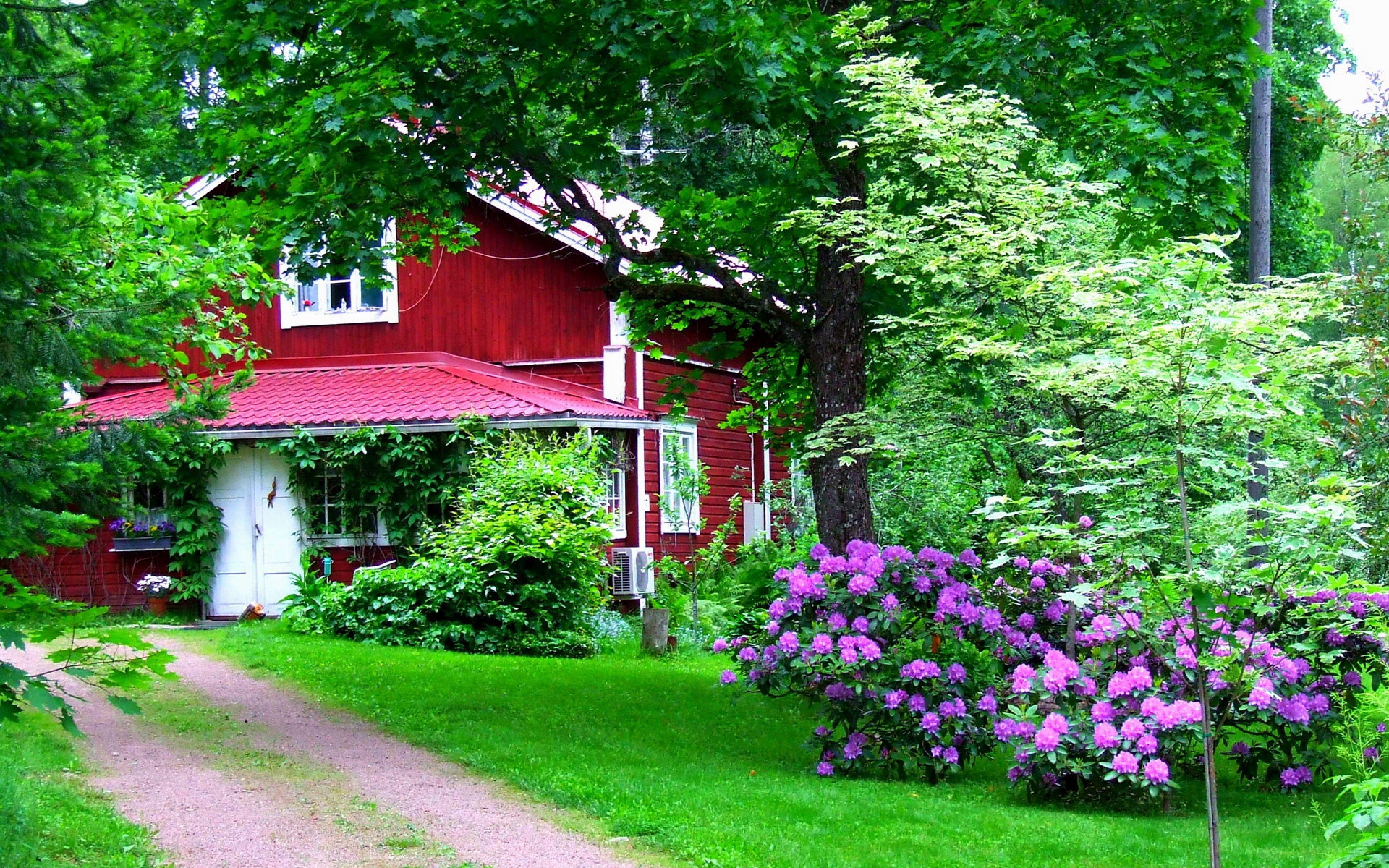 Hd Garden House Wallpapers Downloads Home Designs Wallpaper Beautiful Home Gardens Nature Garden Green Door