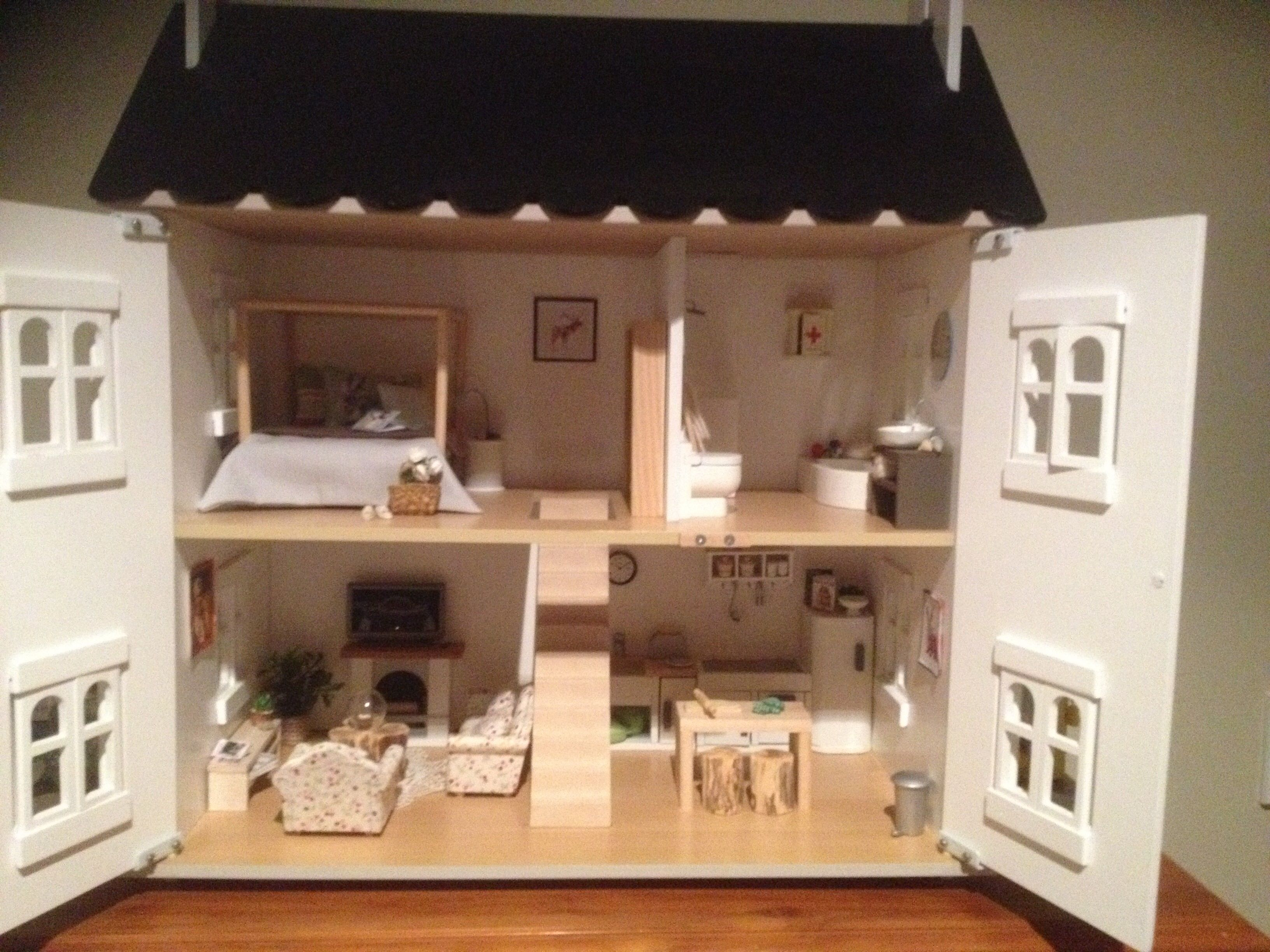 #My Updated Dolls House Hand Made Furniture
