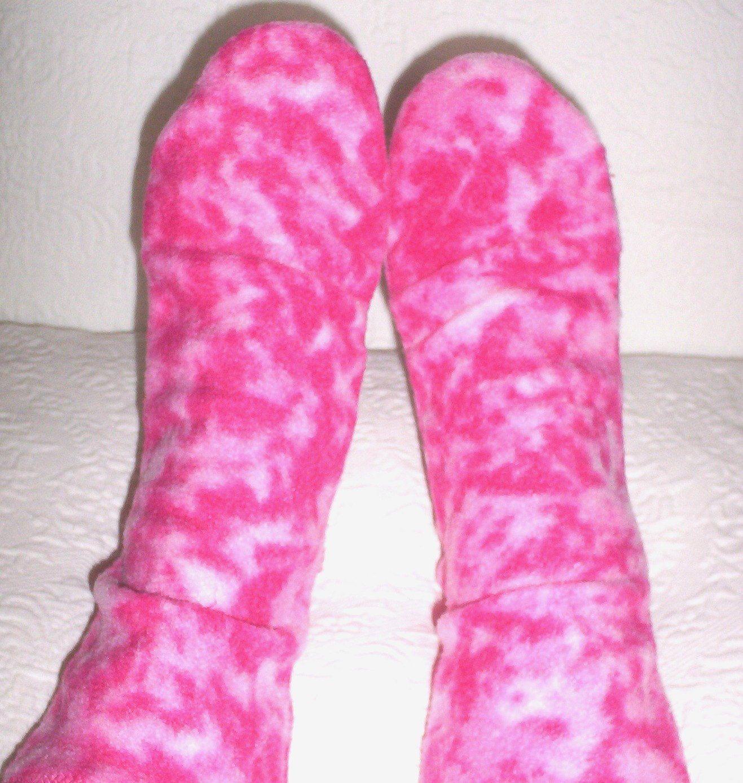 Warm happy feet! etsy shop Women's warm fleece bed