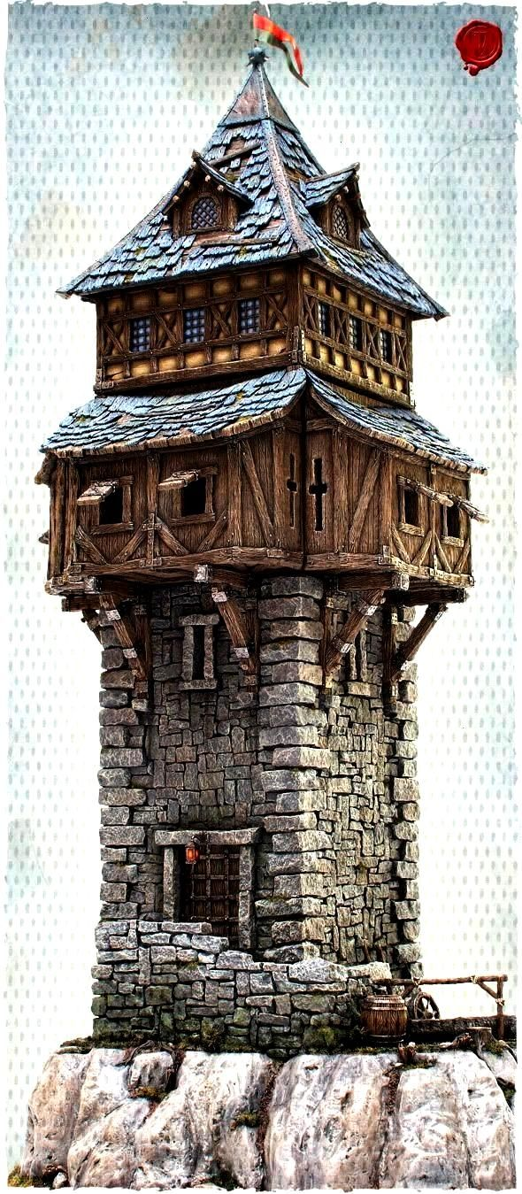 scenery - Page3and Wish I had the skill to make models like this for my... -Tabletop scenery - Page