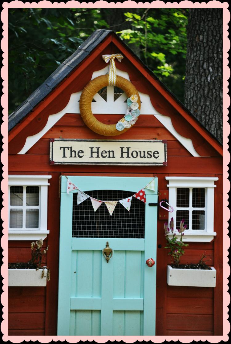 chicken coop decor & chicken coop decor | nye gardens | Pinterest | Chicken coop decor ...