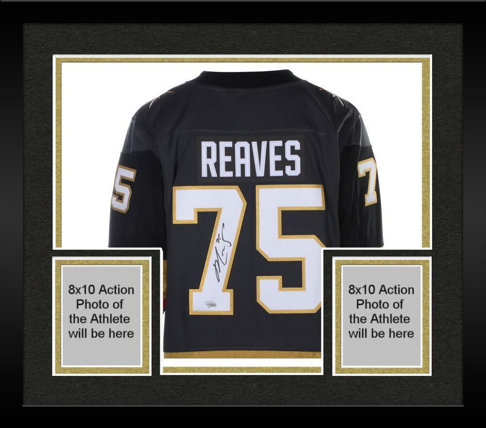 new style c7e15 3e5df Autographed Ryan Reaves Golden Knights Jersey Item#9347351 ...