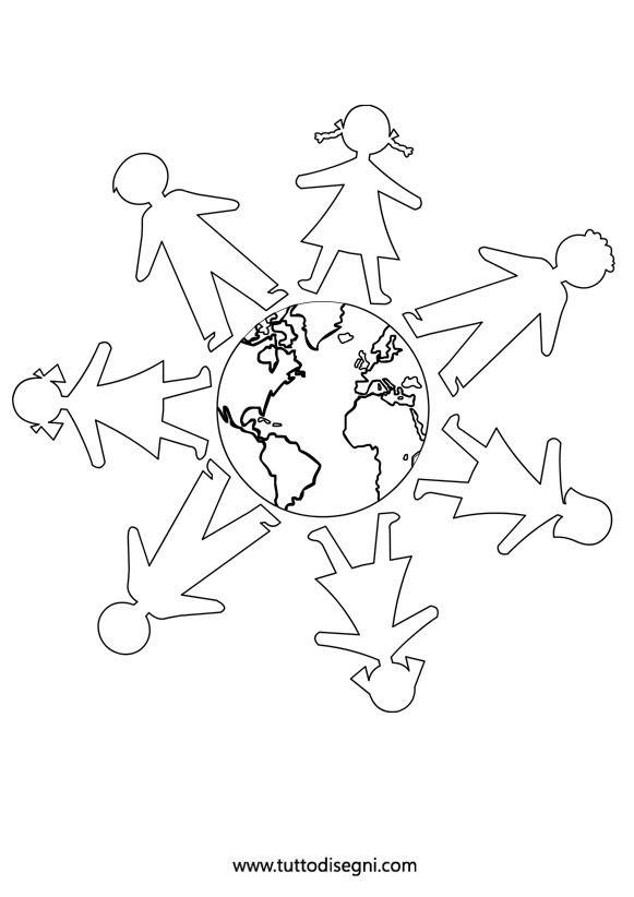 Girotondo Bambini 2 Mandala Pinterest Mandalas Manualidades