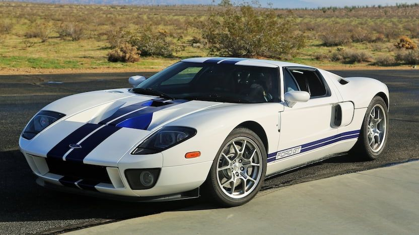 2005 Ford Gt 1 Print Image Ford Gt Ford Gt 2005 Ford