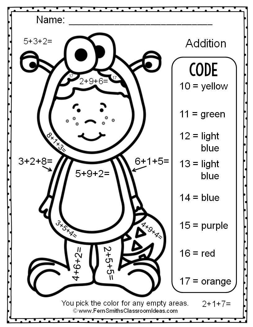 Addition With Regrouping Coloring Worksheets 3 Digit Archives Addition Coloring Worksheet Math Coloring Worksheets Coloring Worksheets For Kindergarten [ 1056 x 816 Pixel ]