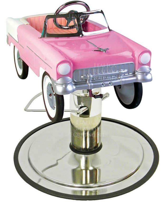 Show Details For Retro Pink Street Cruiser Styling Chair Car In - Car show chairs