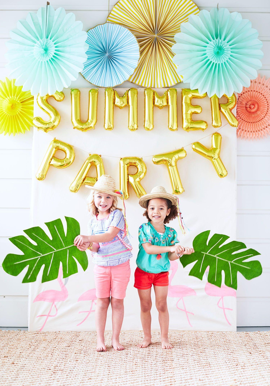 Diy Paper Napkin Holder Summer Party