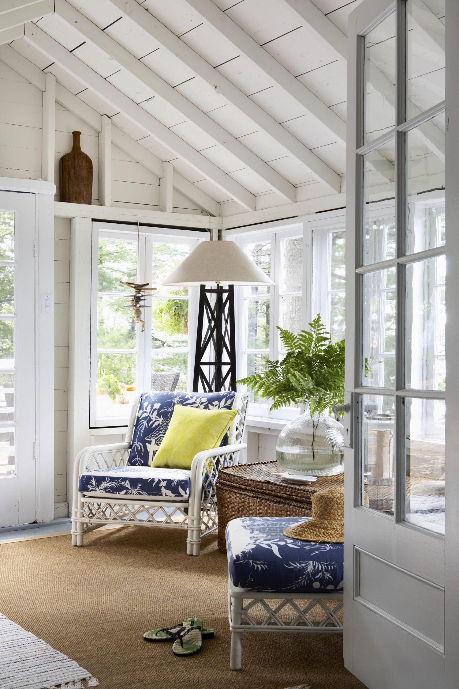 Blue And White House Styles Cottage Design House Design