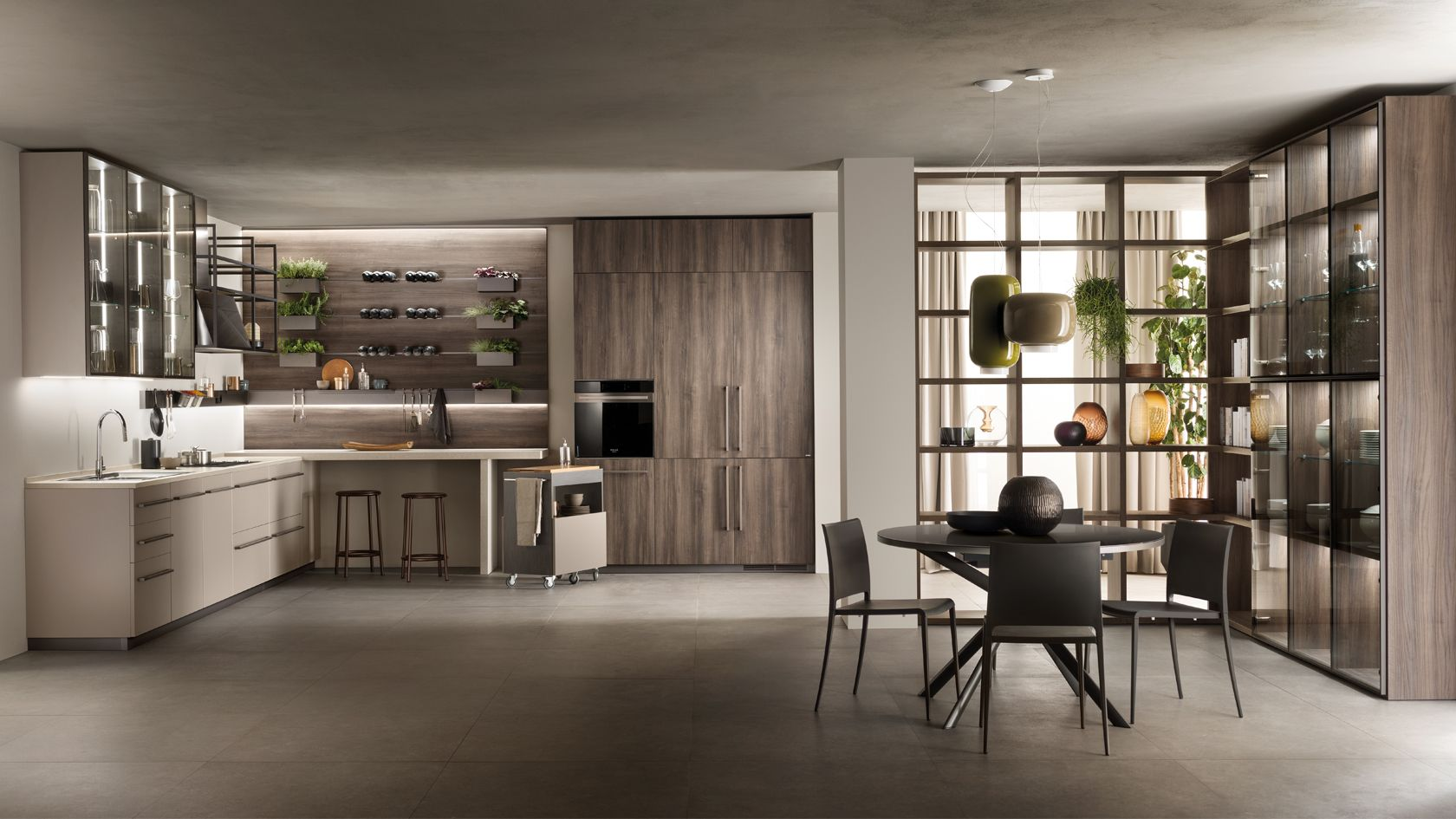 Mia Kitchen Cabinets by Carlo Cracco | Scavolini Official ...