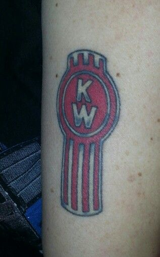 Kenworth logo tattoos