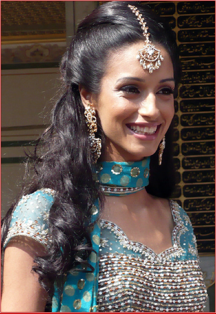 Sangeet Hairstyle Potential Indian Hairstyles Indian Wedding