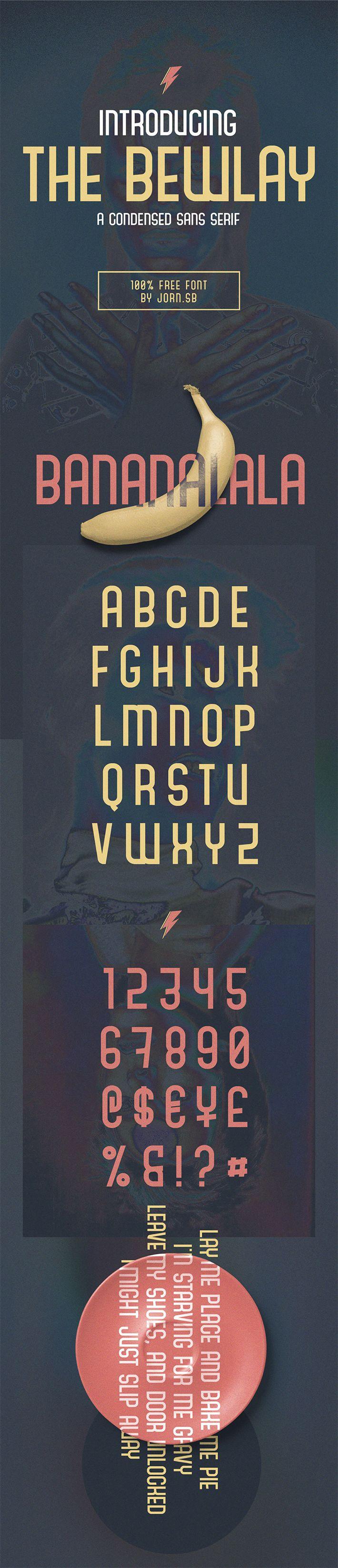 Free Download Elegant Bewlay Sans Serif Font For