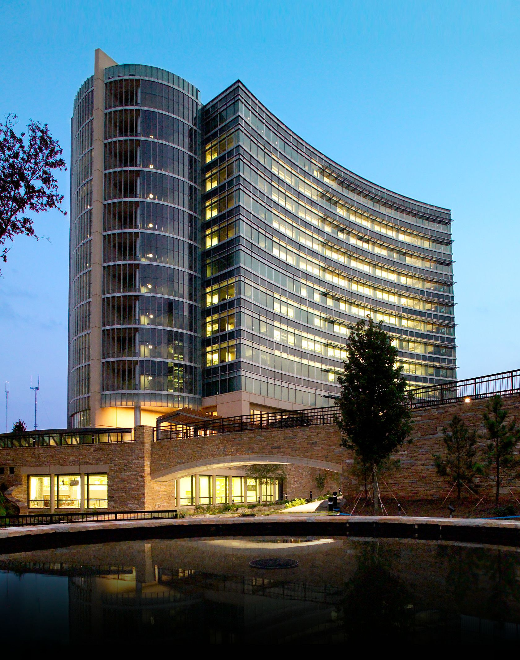 Cdc S Arlen Specter Headquarters And Operations Center In Atlanta Ga Leed Bd C Nc Silver Certified 2006 Building Light Pollution Leed