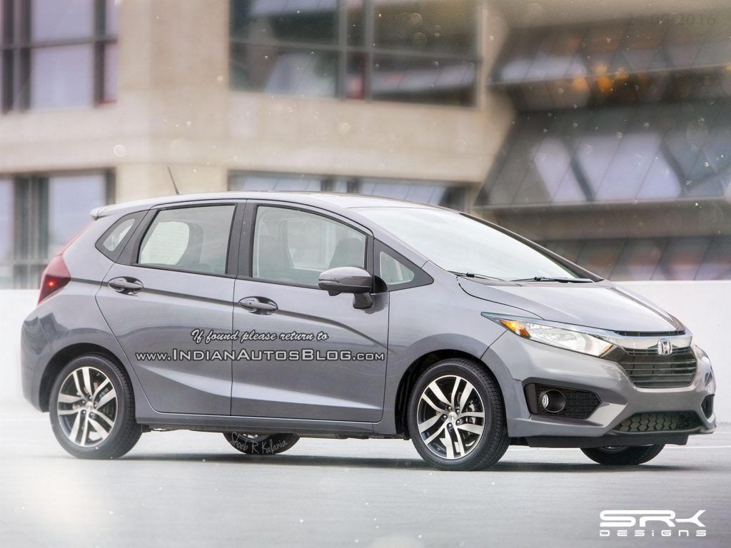 2017 Honda Jazz 2017 Honda Fit facelift Rendering