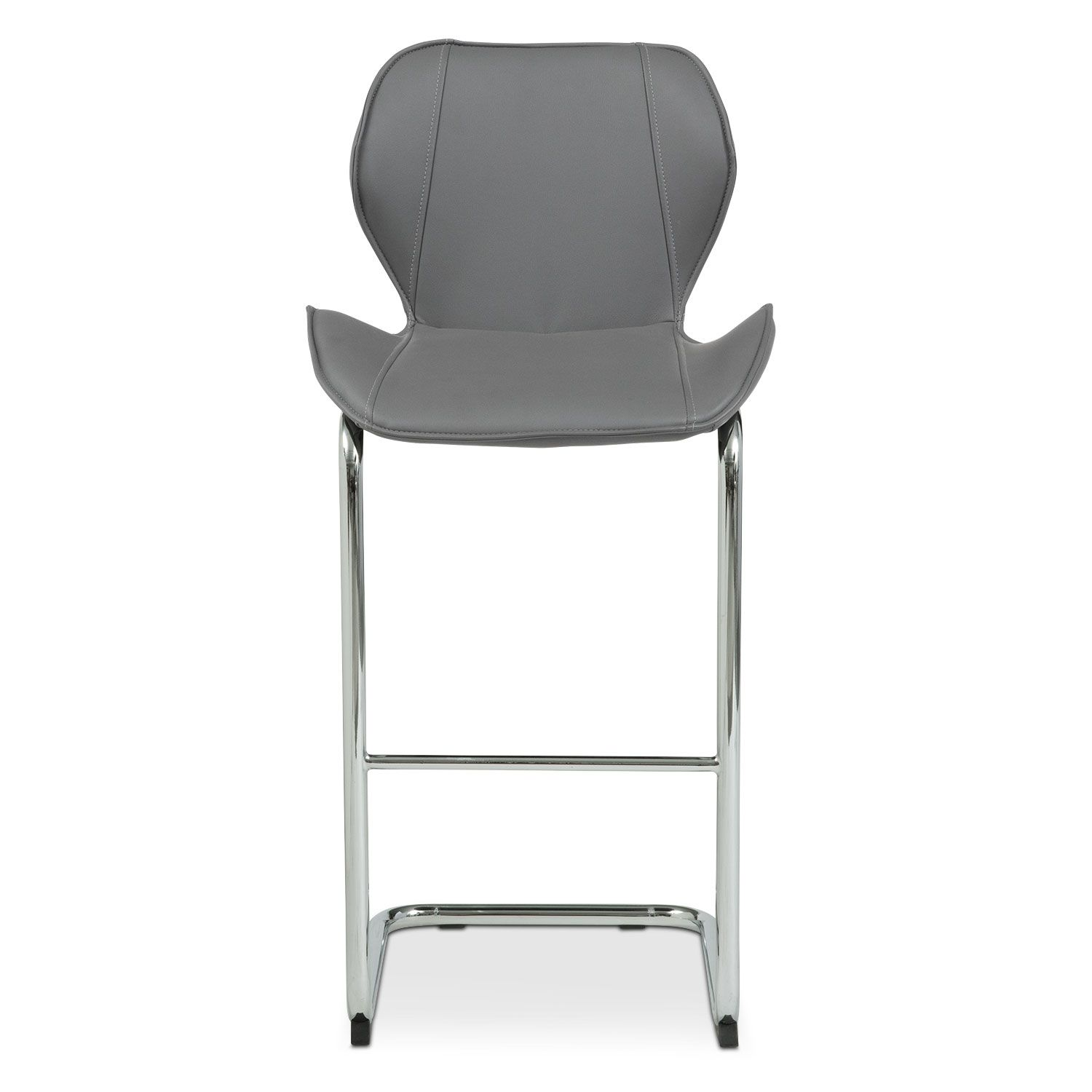 Metropolitan Barstool Gray Value City Furniture