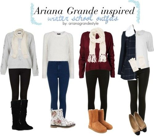 Ariana Grande Inspired Back To School Outfits   To See All The Items Click Here!This Is Actually ...