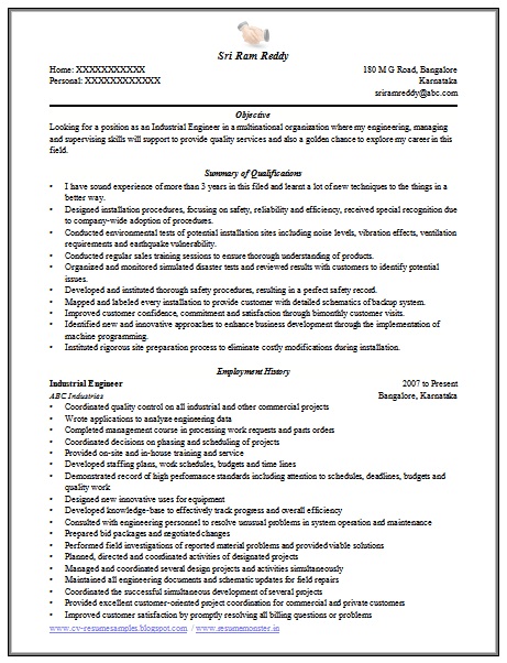 engineer resume format free download 1 career pinterest