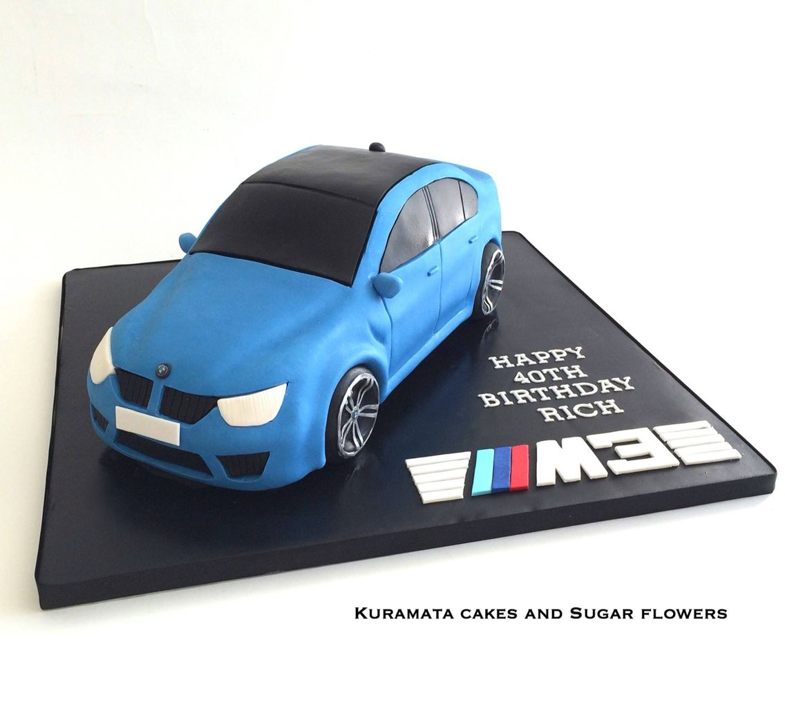 Bmw 3m 3d Car Cake Birthday Cake Birtday Cake Birthday Cake Cake