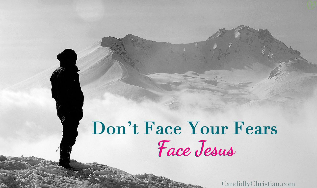 Have you ever been told to do it afraid? Candid Gal, Heather Hart, encourages you not to face your fears, but to face Jesus. Click here to read more...