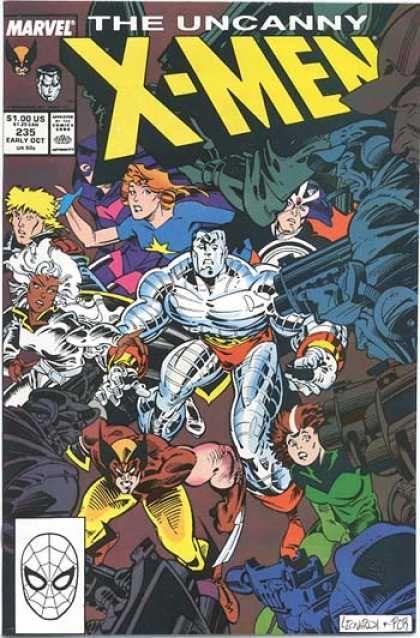 Rick Leonardi Marvel Comics Covers X Men Vintage Comics