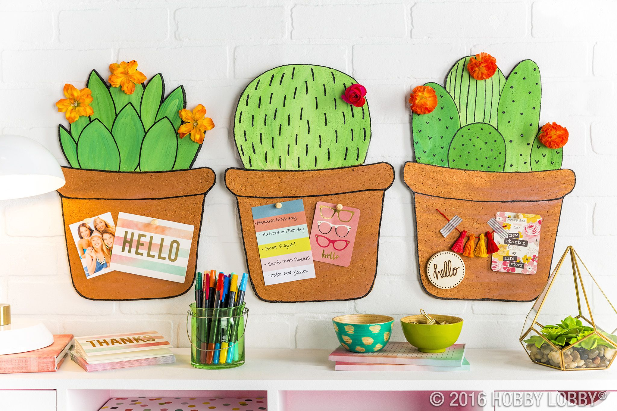 Classroom Decoration Cactus ~ Diy a cute cactus memo board in easy steps cut out