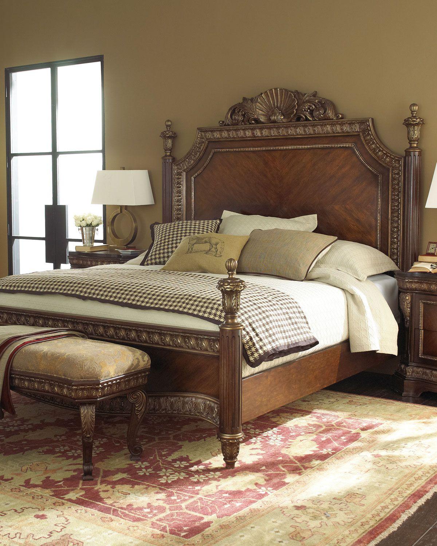 "Tuscany Bedroom Furniture: ""Bianchi"" Bedroom Furniture - Horchow"