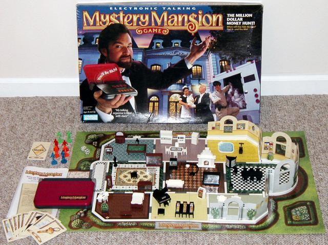 Mystery Mansion Old Board Games Vintage Board Games Mystery Board Games