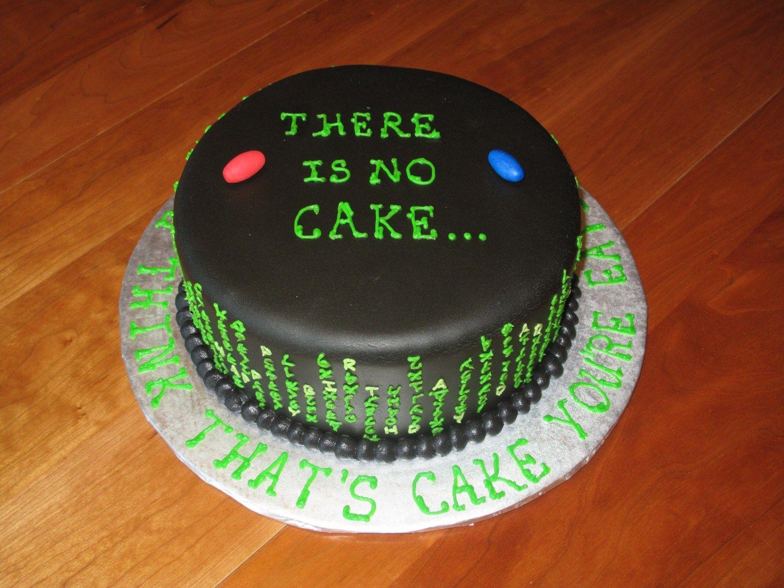The Matrix The Nom Noms Cake Dad Birthday Cakes