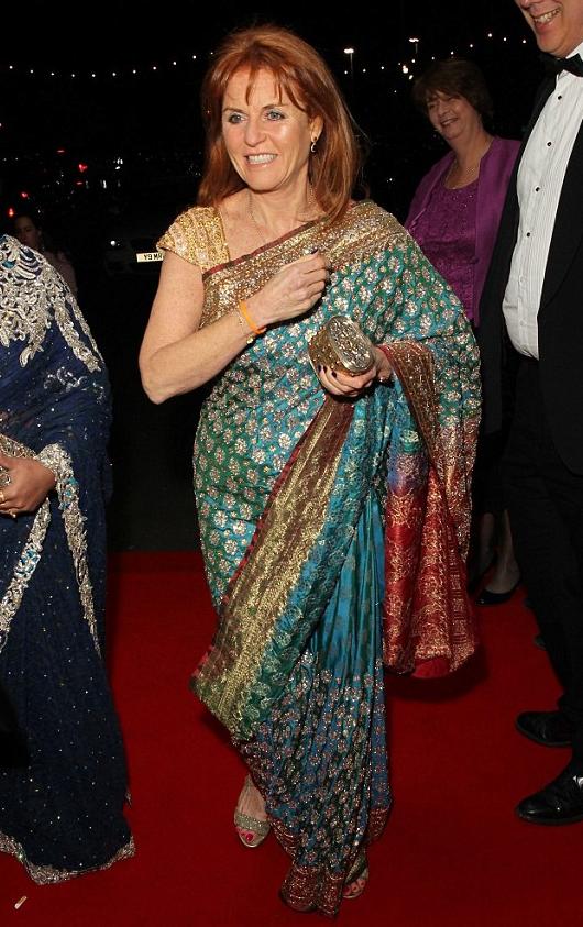 Sarah Ferguson - British Curry Awards in London 2016