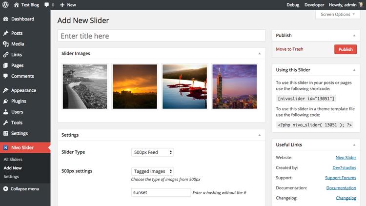 Nivo Slider WordPress Plugin - Dev7studios | WordPress Themes ...