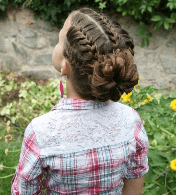 Bet Your Hair Wasn't This Cool In Kindergarten! Awesome Hair Styles For Little Girls • Page 7 of 11 • BoredBug