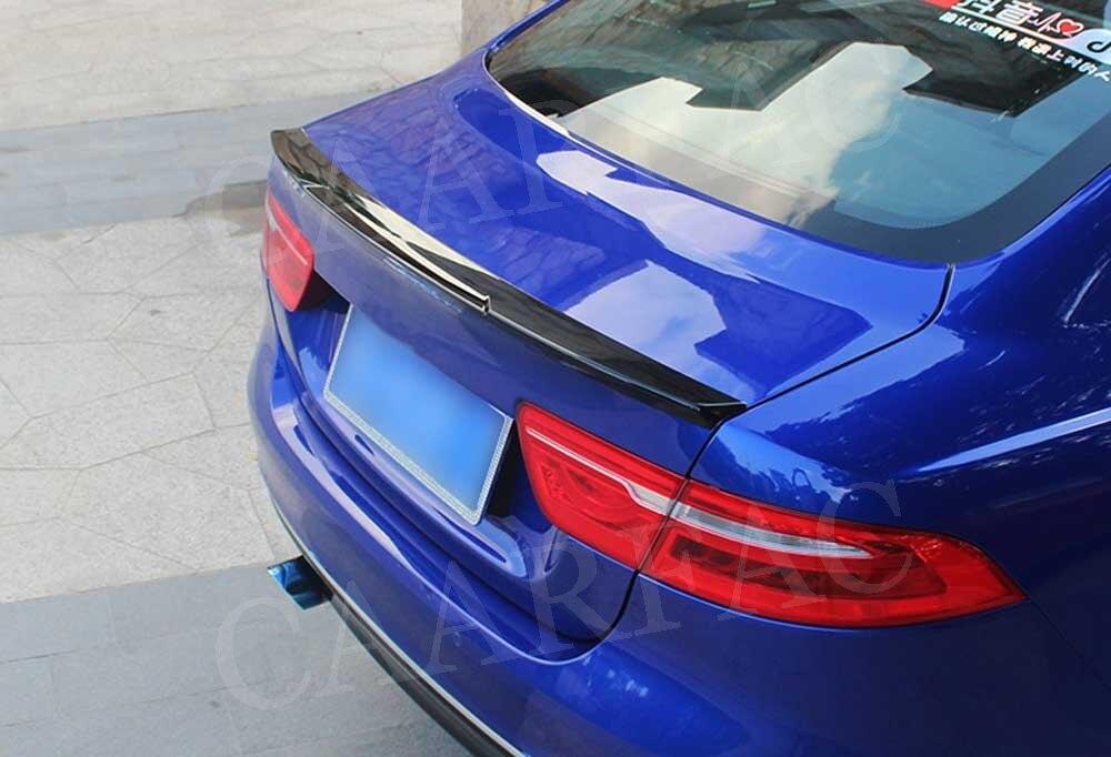 リアスポイラーブーツアヒルリップ用ジャガー Xe セダン 4 ドア 2015