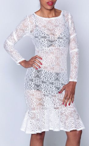 Kim Inspired Lace Dress - iAMMI - Shop exclusive Vintage