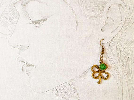 Lucky clover fortune talisman jewelry good by 10dollarjewellery