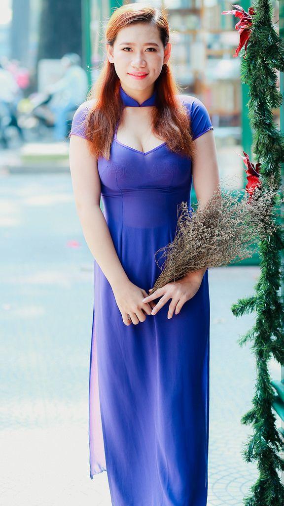 Tuoi xanh | Áo dài | Pinterest | Ao dai, Asian and Asian woman