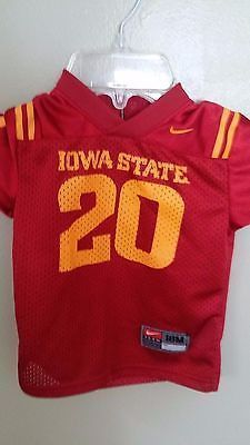 the best attitude ee38c 467c0 NIKE IOWA STATE CYCLONES FOOTBALL JERSEY SIZE 18 MONTH TODDLER INFANT